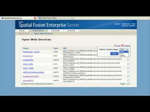CARIS Spatial Fusion Enterprise Web Demo Part - 1