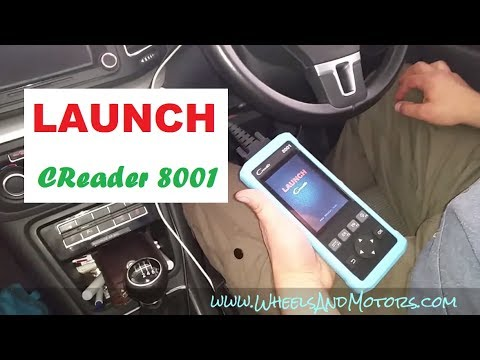 LAUNCH Creader 8001 review by WheelsAndMotors