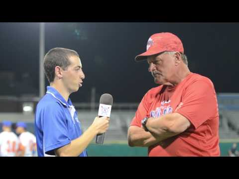 John Schiffner Cape League All Star game 2017 Post Game Interview