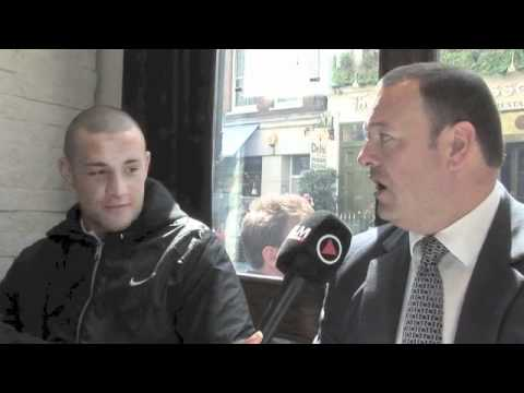 JOE MULLENDER (WITH RICHARD CLARK) INTERVIEW FOR iFILM LONDON.