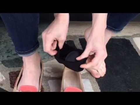 chaussettes invisibles et astucieuses pour femme youtube. Black Bedroom Furniture Sets. Home Design Ideas