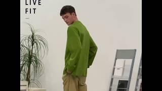 [니티드] KNTD 레이어드 긴팔 티셔츠 OLIVE