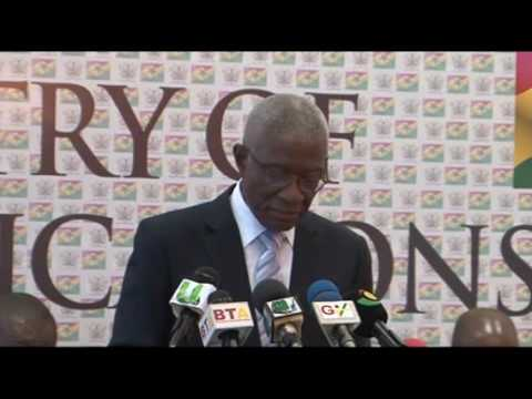 Ministry of Lands & Natural Resources Meet The Press