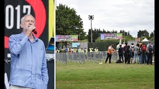 Jezfest FLOP Labour Live SLAMMED as shambolic festival fails to attract crowds