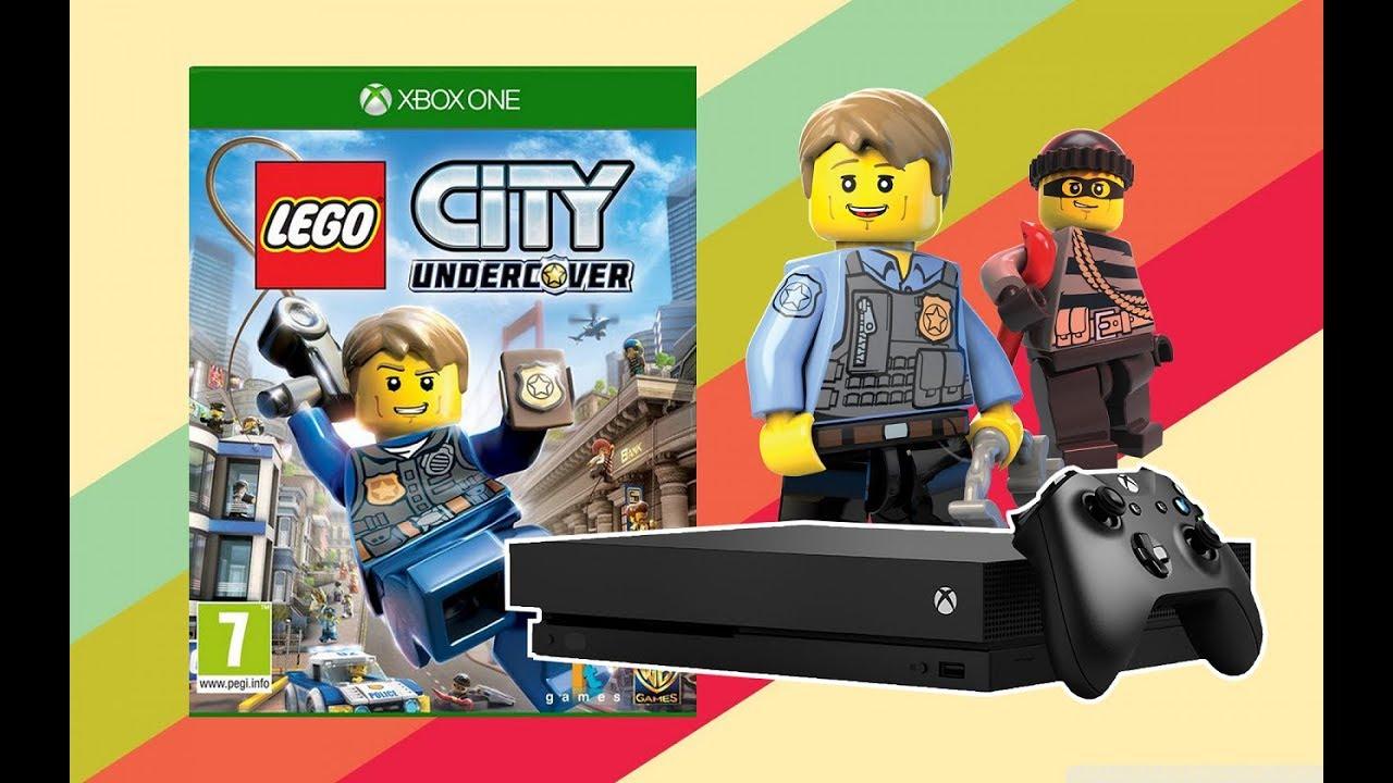 Lego City Undercover - Gameplay - Xbox One X - YouTube