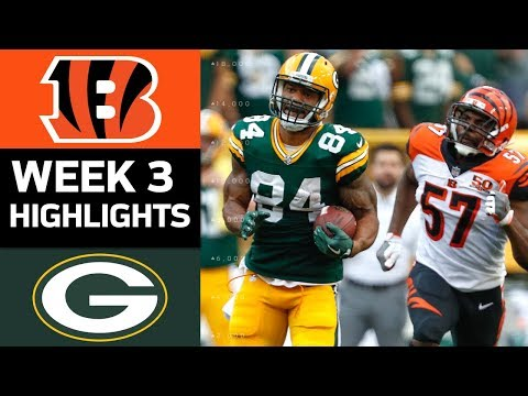 Bengals vs. Packers | NFL Week green bay packers