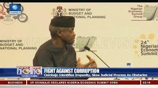 VP Osinbajo Opens 24th Nigerian Economic Summit In Abuja