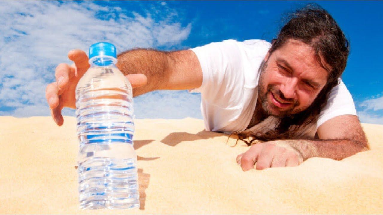 كم من الوقت يُمكن أن يصمد جسم الإنسان بدون طعام وماء ؟