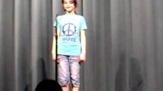 "Ellie Topic performing CAMP ROCK/Renee Sandstrom: ""Here I am"""