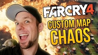 Far Cry 4 Custom Maps Fun - CUSTOM MAP CHAOS ★ Far Cry 4 Funny Moments (Custom Maps)