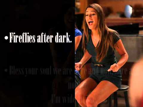 Glee Be ok Lyrics season 5
