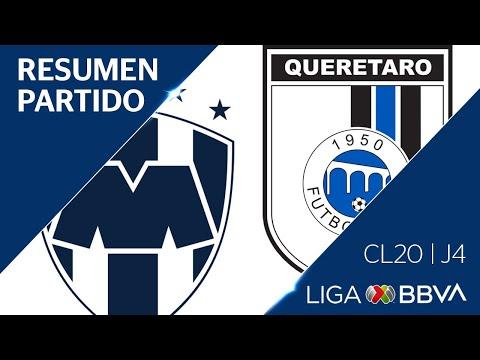 Resumen y Goles | Monterrey vs Queretaro | Jornada 4 - CL 2020 | Liga BBVA MX