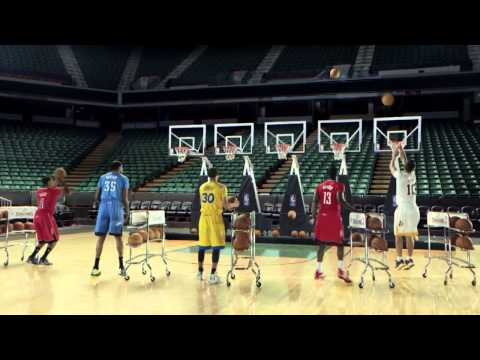 NBA Jingle Hoops | Christmas Day Uniforms Commercial 2013 [HD]
