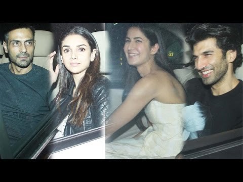 Katrina Kaif, Aditya Roy Kapur, Aditi Rao Hydari, Arjun Rampal And Others Attend Fitoor Screening!