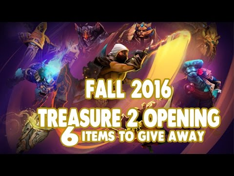 [CLOSED]Dota 2 Fall 2016 Treasure II Chest Opening + Giveaway! (The Boston Major) #2