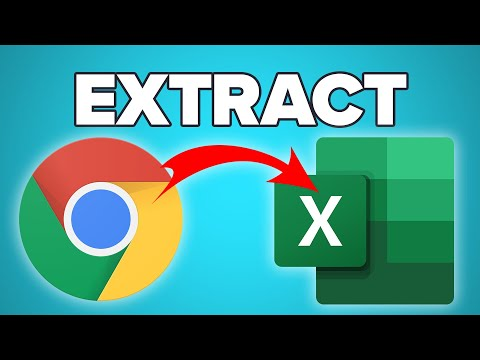 How To Extract Data From ANY Website To Excel (Tutorial 2020)