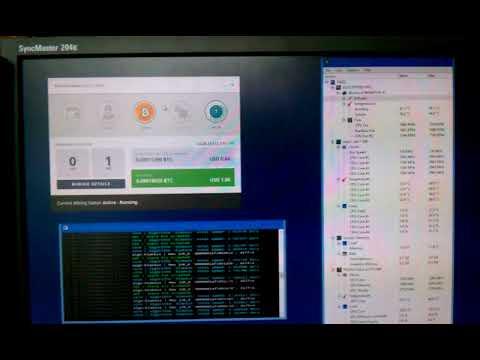 Bitcoin Mining On A Gigabyte Geforce GTX 960 G1 Gaming GPU