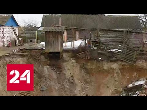 Чиновники Брянской области бросили на произвол судьбы жителей поселка, пострадавших от провалов ...