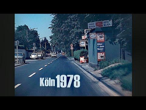 Köln 1978 - Autofahrt Durch Junkersdorf - Early Dashcam