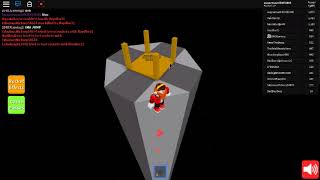 Roblox Rocket Simulator how to make it to the top of the octagon tower