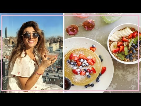 What I Eat In A Day: NEW YORK! | Amelia Liana