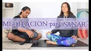 Meditacin para sanar cuerpo, emociones, elevar vibraciones y abrir corazon MalovaElena