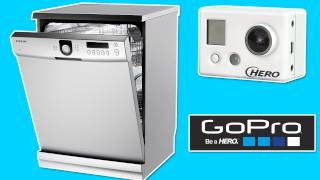 GoPro HD Camera in a Dishwasher
