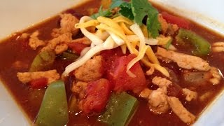 Pumpkin Turkey Chili Recipe - HASfit Pumpkin Chili Recipes - Healthy Chili Recipe