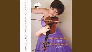 Mozart. Sonata in A Major K305,Tema con Variazioni,Andante grazi