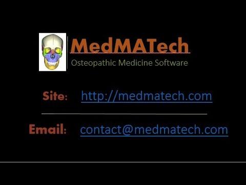 "MedMATech - Osteopathic Medicine software ""OSTEO CLINIC"""