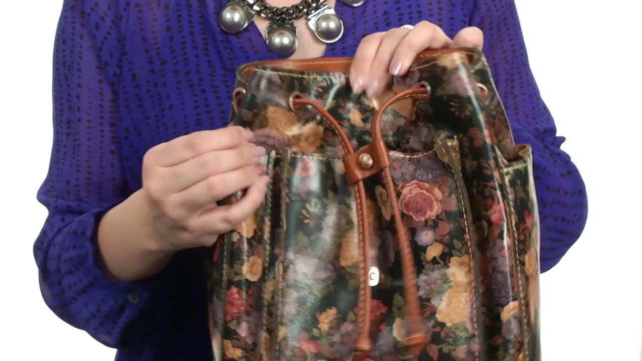 55a82ff54c73 Patricia Nash Aberdeen Backpack SKU 8562341 - YouTube
