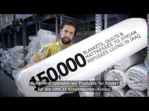 Programme der IKEA Foundation helfen weltweit 178 Millionen Kindern / Spendensumme 104 Millionen EUR in 2014