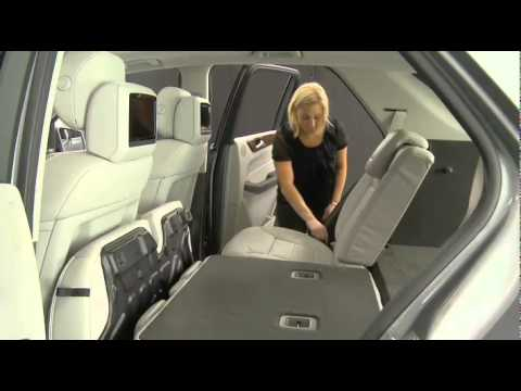 Rear Seat Folding Mercedes Benz Usa M Class Youtube