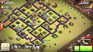 Clash of Clans - TH8 GoHo (Cleanup attack)