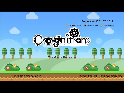 COGNITION 2017 OFFICIAL TRAILER
