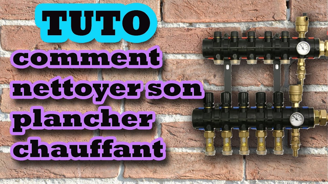 Tuto comment nettoyer purger un plancher chauffant how to clean underfloor heating hd youtube for Plancher chauffant rehau