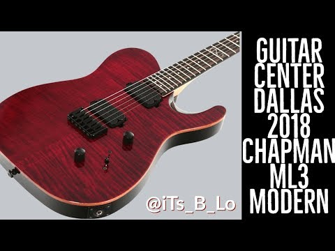 bought a new chapman ml3 modern standard guitar center in dallas tx youtube. Black Bedroom Furniture Sets. Home Design Ideas