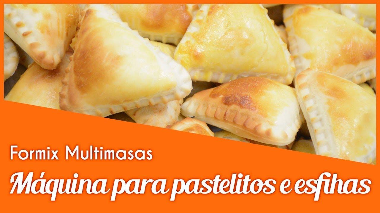 Maquina De Hacer Empanada Y Pastelito Formix Multimasas Bralyx Youtube