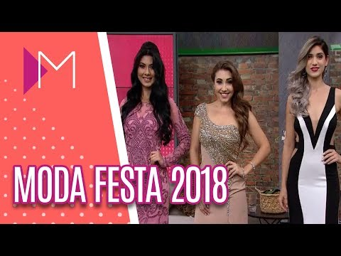Tendências de moda festa 2018 - Mulheres (23/05/18)