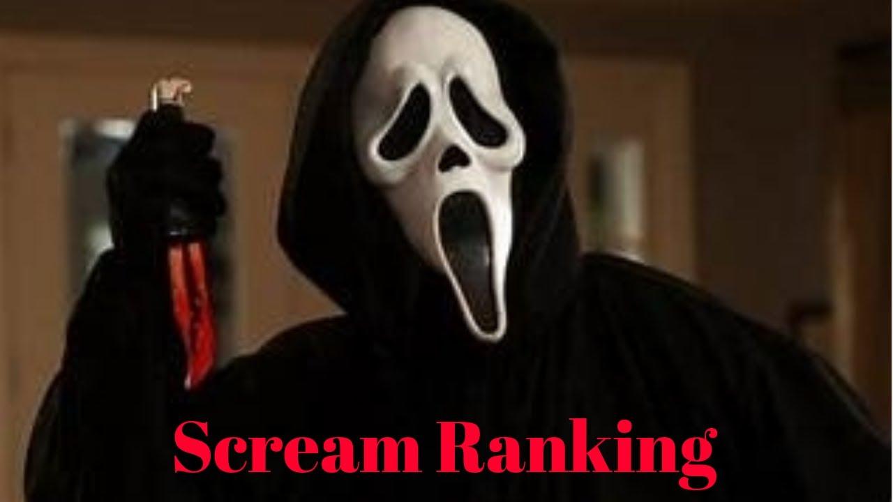 Scream Franchise Ranked