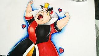 Hi and after a short break i'm back drawing alice in wonderland's queen of hearts, a.k.a my halloween costume this year as always leave comment below w...