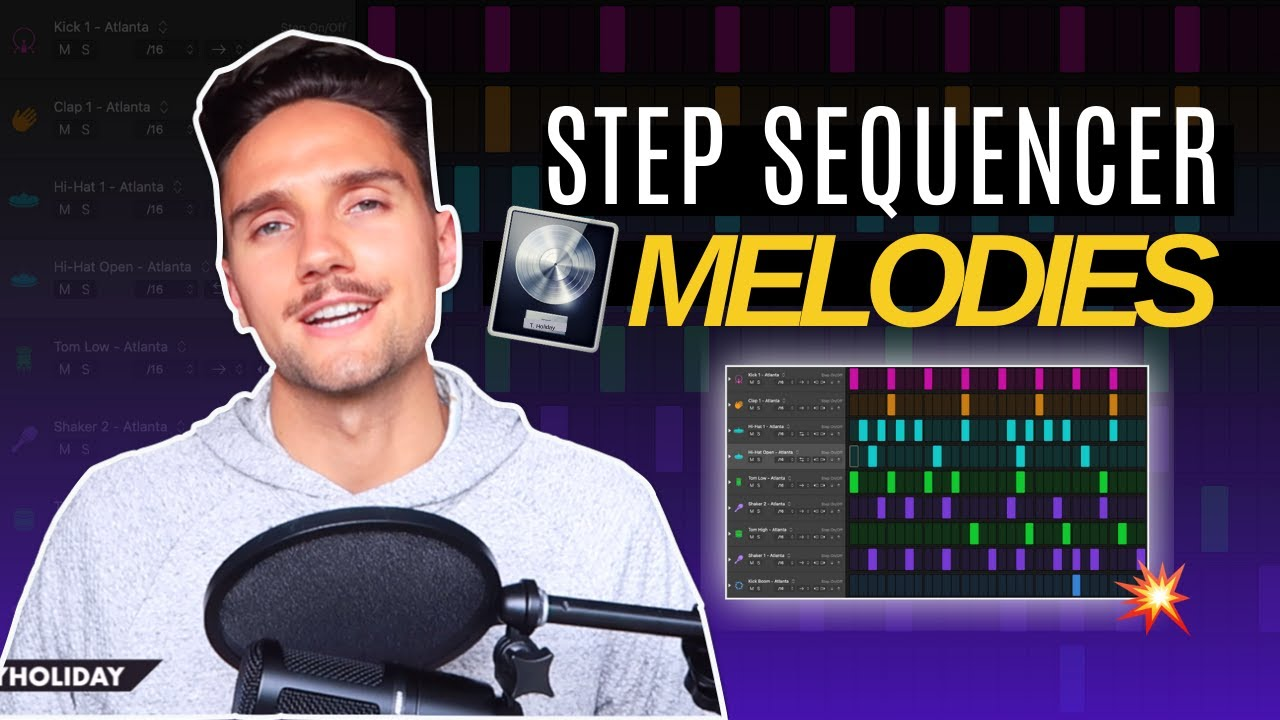 Using the Step Sequencer to Make Melodies | Logic Pro X 10.5 Step Sequencer Tutorial Series (Part 2)
