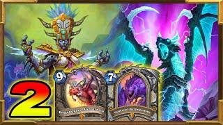 Hearthstone: Dragonqueen Alexstrasza, Princess Talanji Galakrond Dragon Control Priest | Part 2