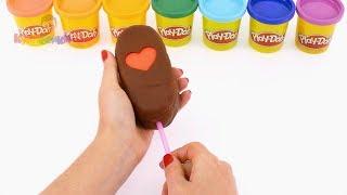 Мультфильм как Свинка Пеппа и Джордж сделали мороженое на русском языке, новые серии для детей 2017