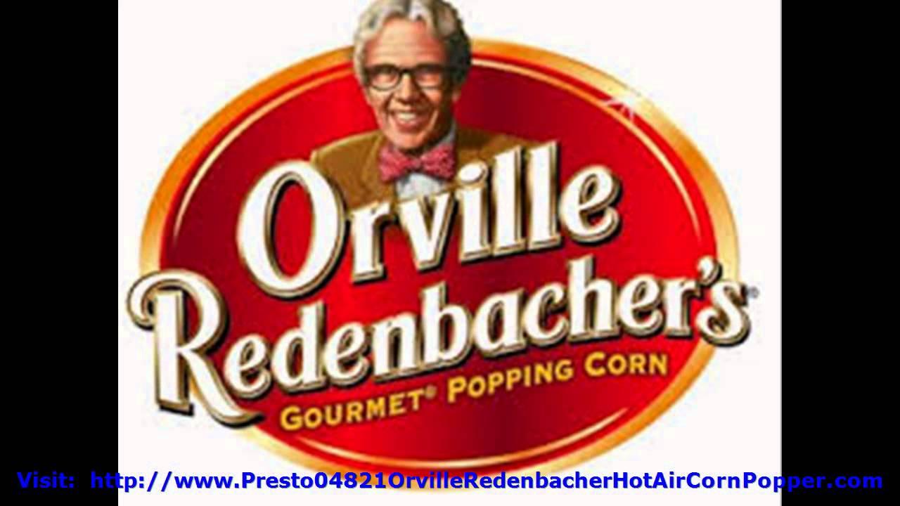 Presto Orville Redenbacher Popcorn Popper - YouTube