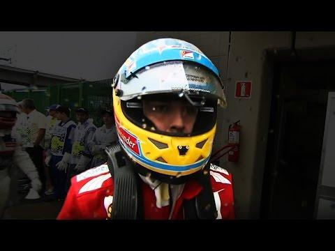 Alonso's lifeless stare