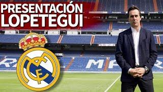 Presentación de Julen Lopetegui como nuevo entrenador del Real Madrid | Diario AS