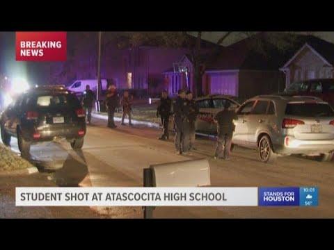Student shot at Atascocita High School