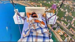 Flying Bedroom-Uçan Yatak Odası-Siesta In the Sky-Havada Şekerleme-Paragliding-Yamaçparaşütü