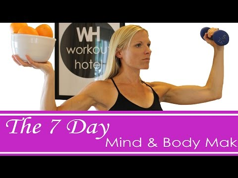 7 Day Mind & Body Makeover :Day 3: Cardio & Core W